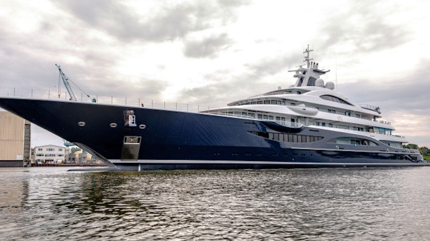 TIS superyacht