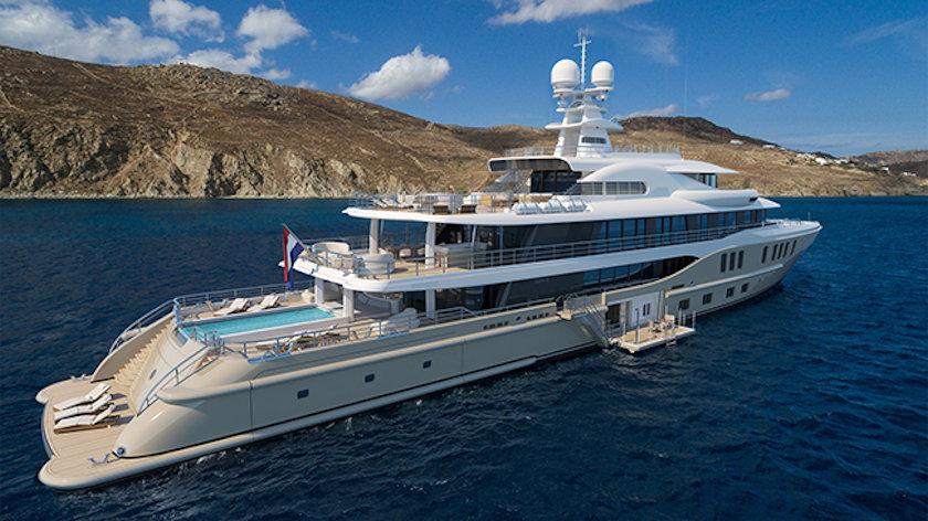 AMELS 242 superyacht