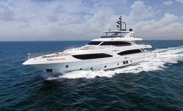 Gulf Craft at Cannes Yachting Festival with two Majesty Superyachts