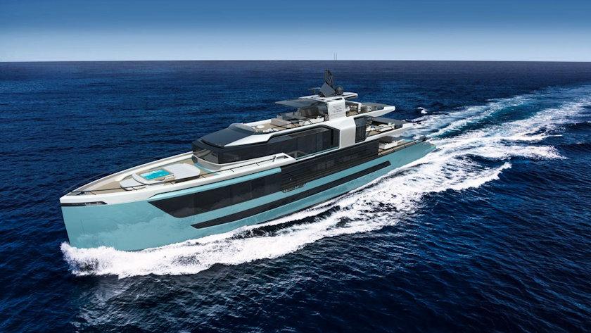 Sarp XSR 155 superyacht
