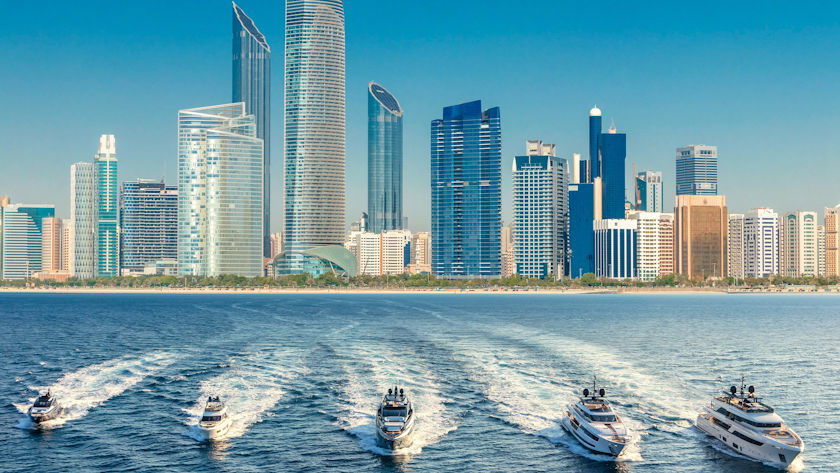 FERRETTI GROUP in ABU DHABI