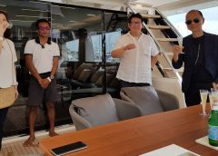 A Weekend for Gentlemen in Malaysia with Jimmy Choo on board Ferretti Yachts 780