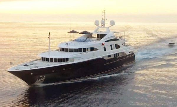 55m/180.4ft LADY MICHELLE Superyacht for Sale, $21.5 Million
