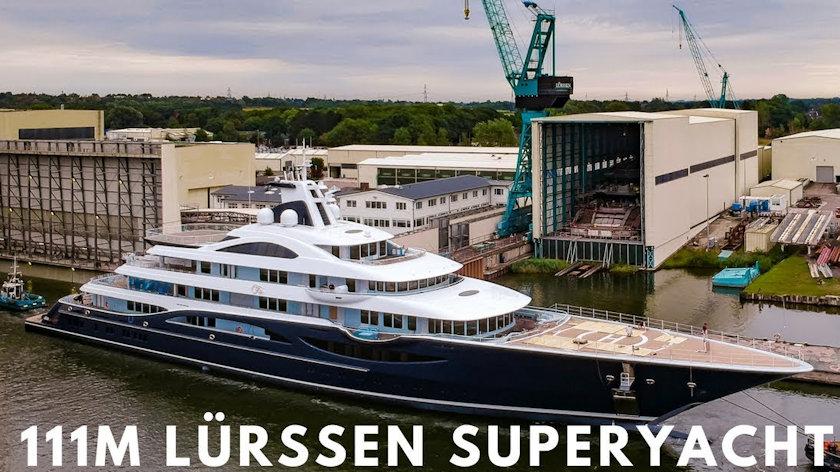 Lurssen Superyacht TIS
