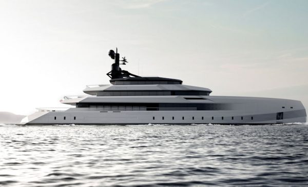 Begallta, An Iconic State-of-the-art Superyacht by CRN & Lobanov Design