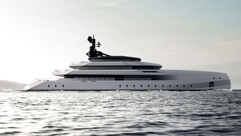 CRN Begallta superyacht