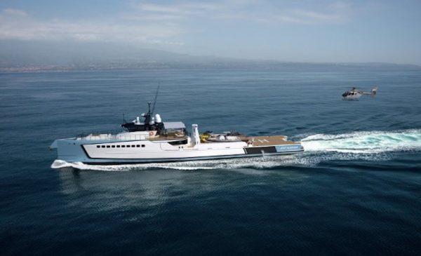 Burgess Sells 55.5m/182ft Damen Yacht Support Vessel