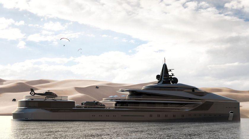Esquel yacht in Oman