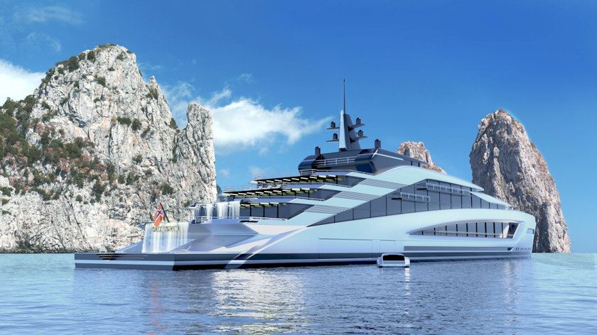 California superyacht