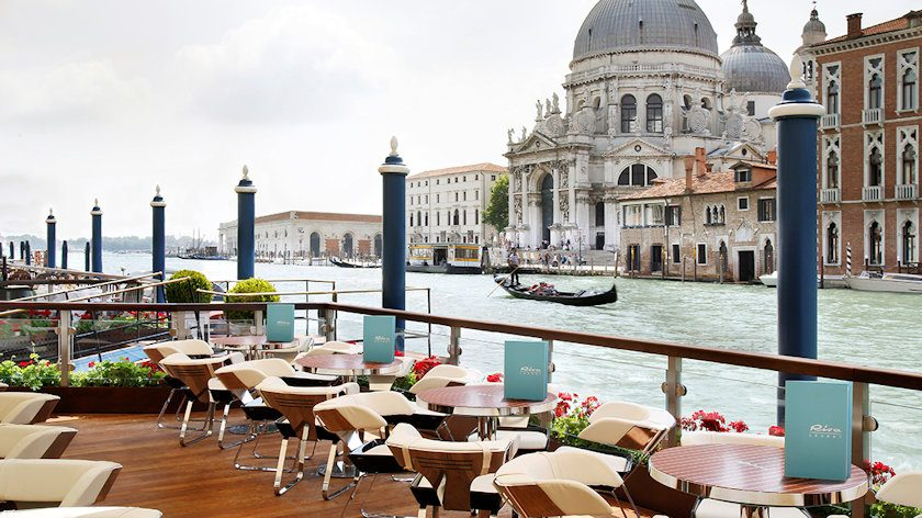 Riva Lounge at Gritti Palace in Venice
