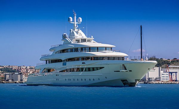 CRN Delivers 79m/259ft CRN M/Y 135 Superyacht