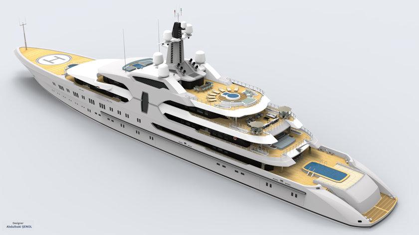 120 m yacht concept