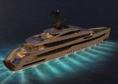 CRN Unveils Concept of New Superyacht  M/Y 138