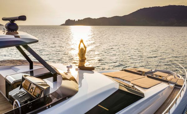 Ferretti Yachts 920 PURE: It Feels Just Like Home