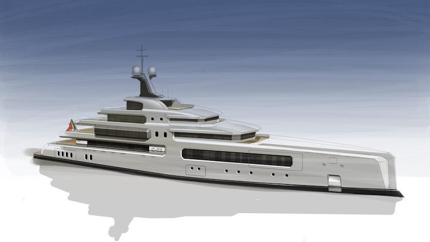 Wayne Parker yacht design